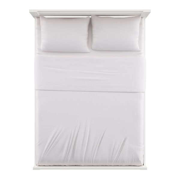 Christopher White Full Rectangular Cut-Out Panel Bed, image 5
